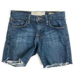 New York & Company cut up Shorts O0260